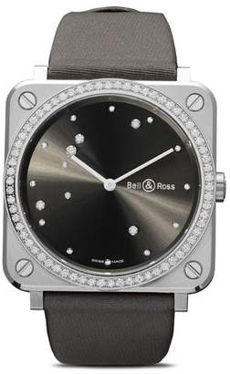 Bell & Ross BR S Grey Diamond Eagle Diamonds 39mm