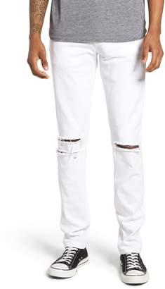 J Brand Mick Distressed Skinny Fit Jeans