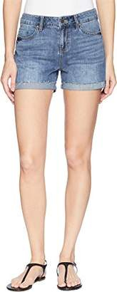 Liverpool Jeans Company Women's Bailey Bermuda Relaxed Short in Soft Rigid Denim