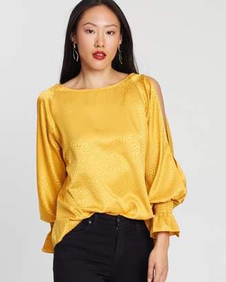 Dorothy Perkins Jacquard Long Sleeve Shirt