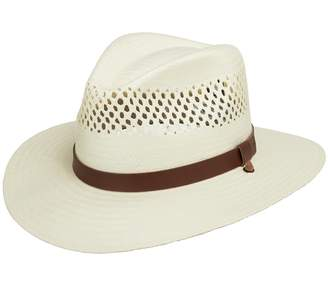 Stetson Ultrafino Digger Vented Straw Outback Hat 6 3/4