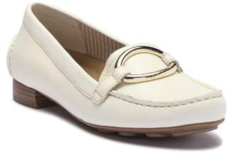 Anne Klein Harmonie Leather Bit Loafer