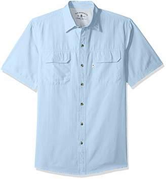 G.H. Bass & Co. Men's Explorer Short Sleeve Button Down Fishing Shirt