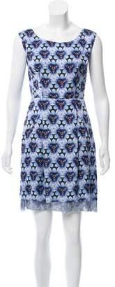 Acne Studios Printed Knee-Length Dress
