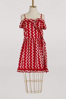 Stella McCartney Stella Mc Cartney Amanda silk dress