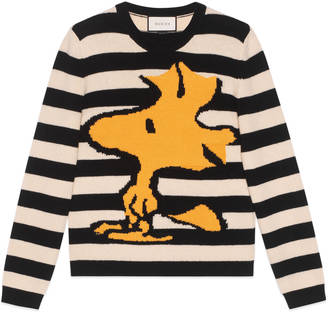 Striped wool Woodstock sweater $980 thestylecure.com