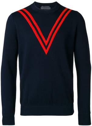 Stella McCartney chevron effect sweater