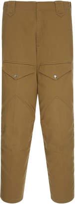 Cotton-Twill Slim-Fit Cargo Pants