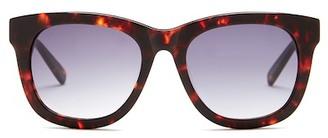 DEREK LAM Unisex Bodrum Rectangular Sunglasses $150 thestylecure.com