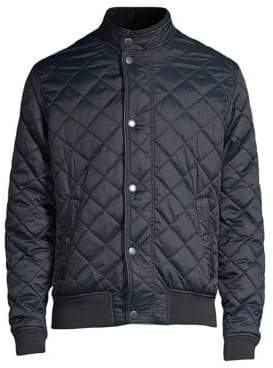 Barbour Black Tartan Edderton Quilt Jacket