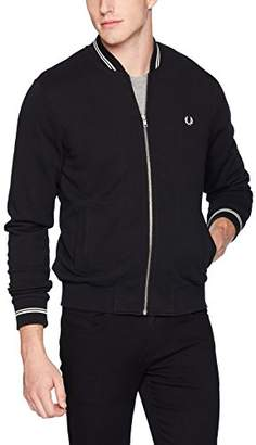 Fred Perry Men's Bomber Neck Sweater