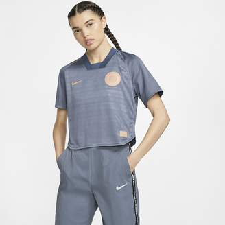 Nike Women's Short-Sleeve Soccer Top F.C. Dri-FIT