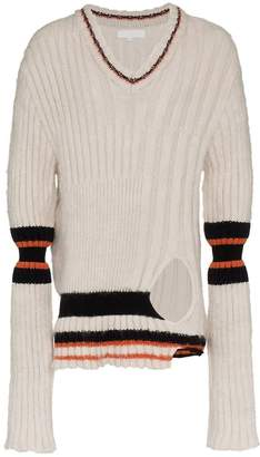 Helen Lawrence Chunky mohair and merino wool jumper