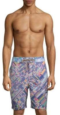 Robert Graham Universe Multicolored Swim Shorts