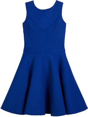 David Charles Sleeveless Pinstripe Dress, Size 8-16