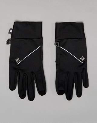 Columbia Trail Summit Running Glove in Black With Etip