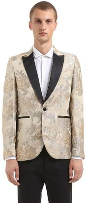 Christian Pellizzari Floral Jacquard Evening Jacket