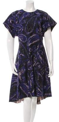 Ellery Heroes Patterned Dress w/ Tags