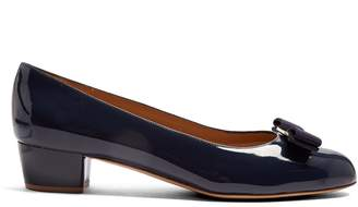 Salvatore Ferragamo Vara patent-leather pumps