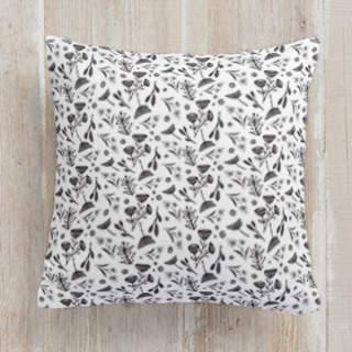 Retro Florals Square Pillow