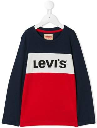 Levi's Kids colour block logo T-shirt