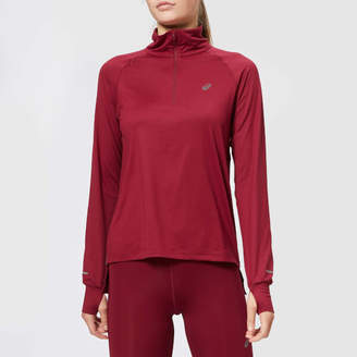 Asics Women's Thermopolis Long Sleeve 1/2 Zip Top