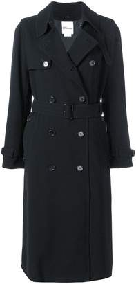 Comme des Garcons double breasted trench coat