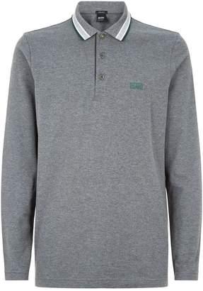 BOSS Contrast Trim Polo Shirt