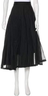 Ter Et Bantine A-Line Midi Skirt w/ Tags Black A-Line Midi Skirt w/ Tags