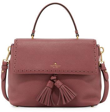 Kate SpadeKate Spade New York James Street Sparrow Leather Satchel Bag