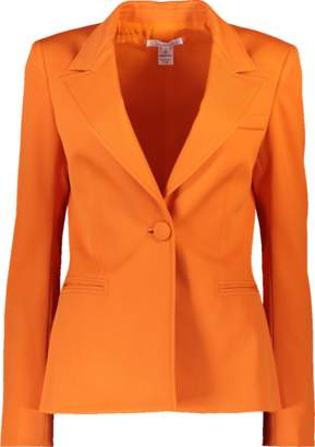 Oscar de la Renta One Button Blazer