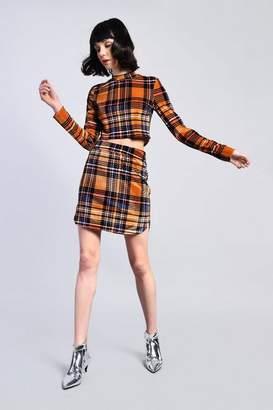 Glamorous Petites **Checked Skirt by Petite