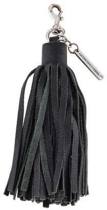 Rebecca Minkoff Leather Tassel Key Chain