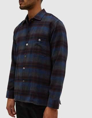 Très Bien Short Tunic Flannel Shirt