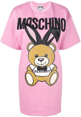 Moschino Playboy toy T-shirt dress