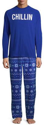 North Pole Trading Company Chillin 2 Piece Pajama Set -Men's