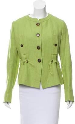 Max Mara Woven Linen Jacket