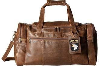 Scully Squadron Duffel w/ 81 Aero Squadron Luggage Tag Duffel Bags
