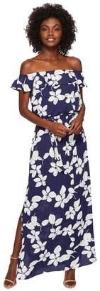 Adrianna Papell Simple Delight Ruffle Women's Dress