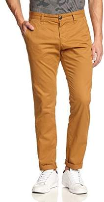 Tom Tailor Men's Solid Twill Chino Trousers,31W x 32L