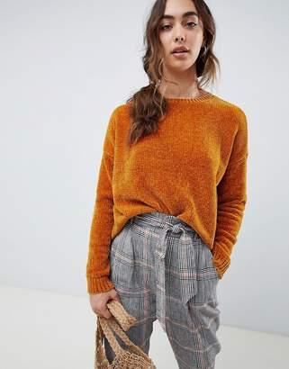 Vero Moda Chenile Knitted Sweater