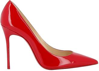 Christian Louboutin Red Patent Leather Pumps