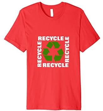 Green Eco Friendly Recycle Symbol Environmentalist T Shirt