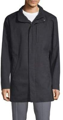 Armani Collezioni Two-Layer Hooded Jacket