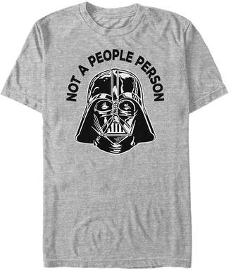 Star Wars Men Classic Darth Vader Not A People Person Short Sleeve T-Shirt