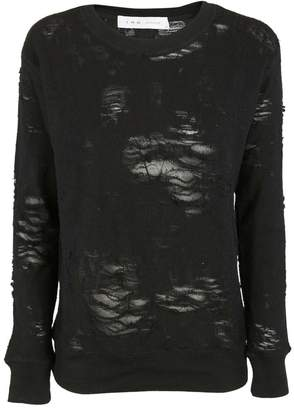 IRO Distressed Detail Sweatshirt