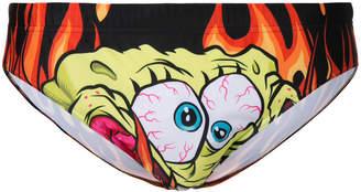 Moschino SpongeBob print swim truck