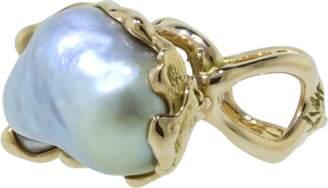 Lucifer Vir Honestus Reticolo Pearl Ring