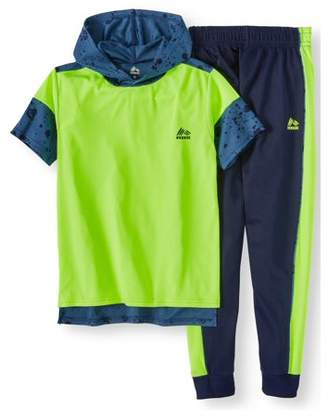 RBX Performance Hoodie And Tricot Jogger Set (Little Boys & Big Boys)