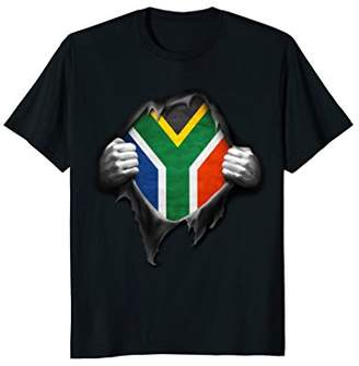 South Africa Flag T Shirt. Proud South African